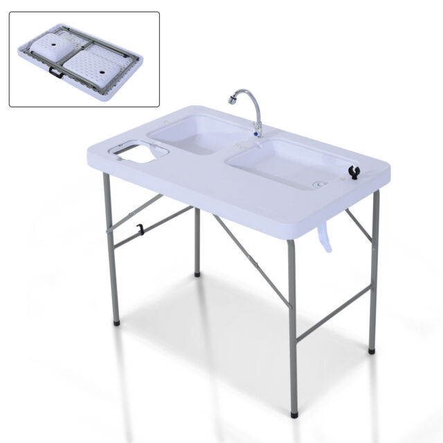 Pleasing Folding Portable Fish Fillet Hunting Cleaning Cutting Table Camping Sink Faucet Uwap Interior Chair Design Uwaporg
