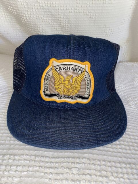 Carhartt WIP College Trucker Cap Persimmon Orange Mesh capuchón
