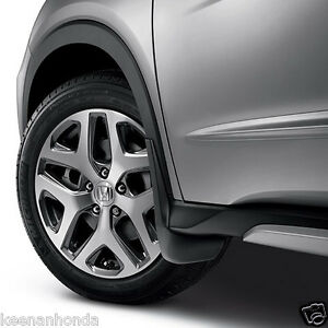 Splash Guard Car >> Genuine OEM Honda HR-V Splash Guard Set 2016 - 2017 HRV Mud Guards | eBay