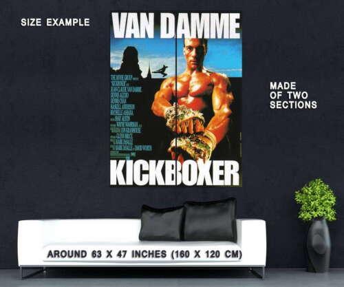 73752 KICKBOXER Movie Van Damme RARE Wall Print POSTER Plakat