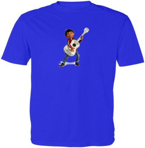 Disney Coco Miguel Rivera Kids Girls Boys Youth Video Game Cartoon T-Shirt