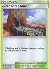 POKEMON SUN & MOON GUARDIANS RISING CARD: ALTAR OF THE SUNNE - 118/145