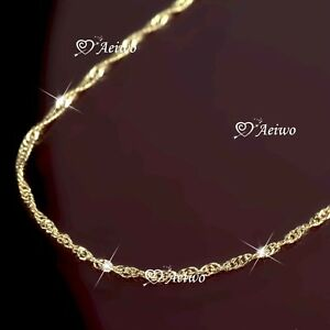 AEIWO-18K-ROSE-GOLD-PLATED-SINGAPORE-TWIST-CHAIN-NECKLACE-48cm
