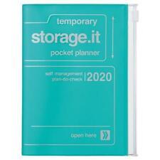 Storage.It Taschenkalender 2019 Türkis A6 Mark/'s