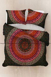 Indian-floral-printed-duvet-cover-ethnic-hippie-mandala-quilt-cover-bedding-set