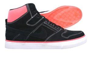Nike Delta Force High Ac Prem Si Homme Montantes En Cuir Baskets Noir Taille Uk 8.5-afficher Le Titre D'origine