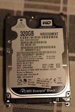 "HD 320GB HP 633739-001 Western Digital WD3200BEKT 2.5"" SATA disco fisso notebook"