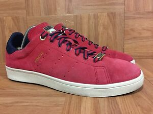 b3426247378c RARE🔥 Adidas Stan Smith Vulc x Primitive Skateboarding Sz 9 Red ...