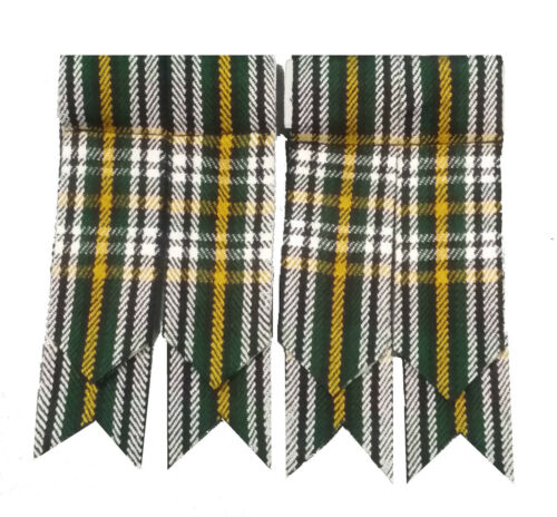 Écossais Kilt Flashes HERITAGE OF IRELAND Tartan//Ireland Tartan Kilt Flashes