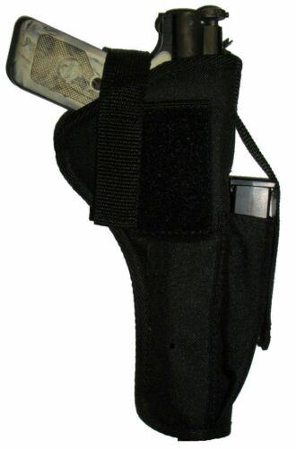 USA Made Custom Ruger Standard Tactical grade Nylon Holster W extra clip pouch