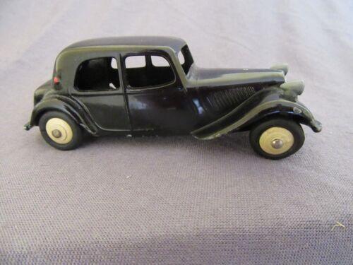 828f Vintage Dinky 24n Citroën 11bl Traction Noir 1:43