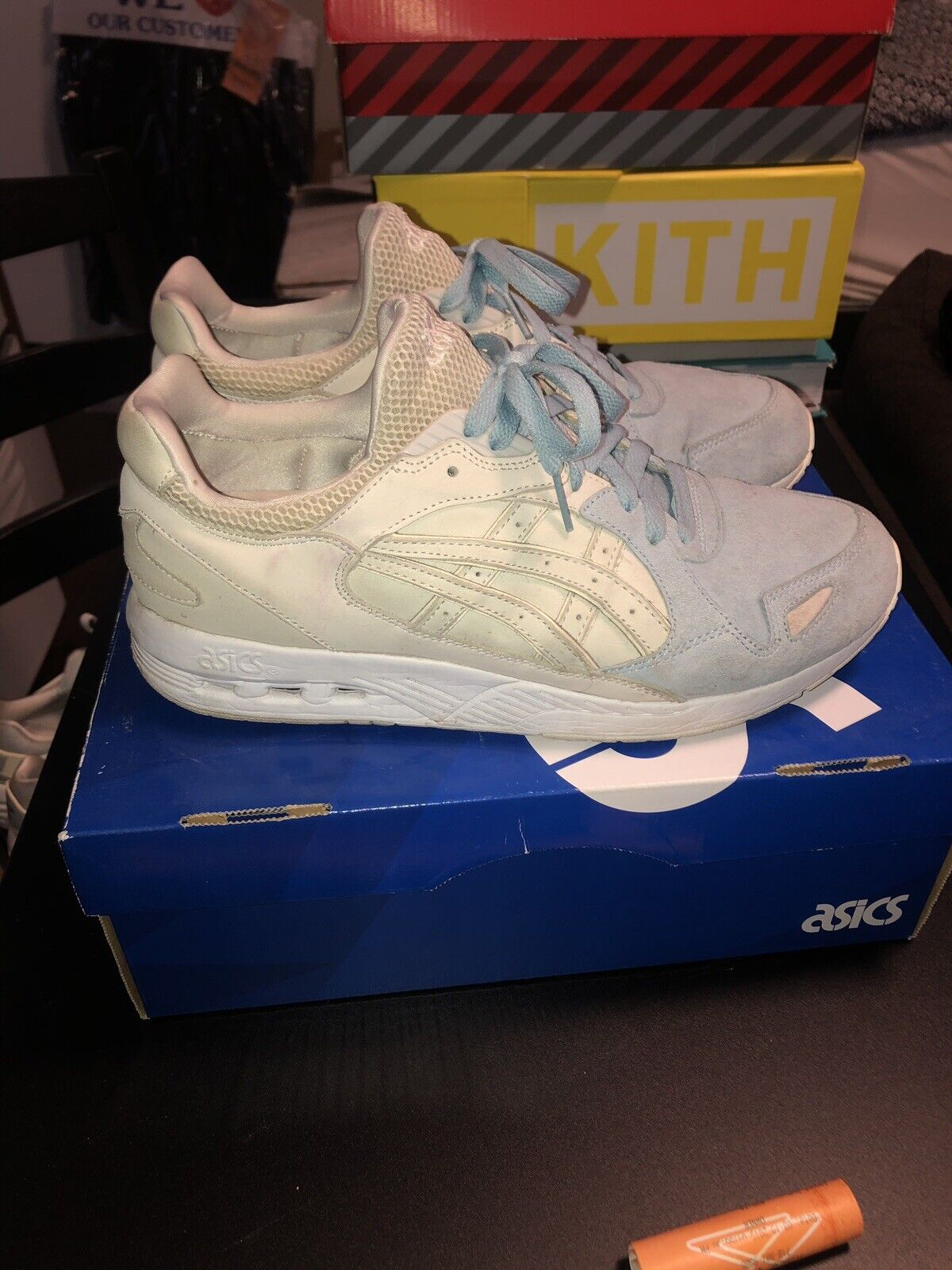 Asics GT-Cool Xpress X Ronnie Fieg  Sterling  Preowned Size 9.5