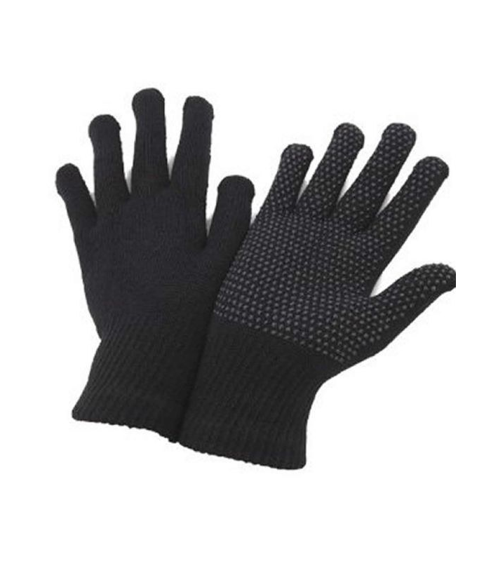 Black Gripper Thermal Magic Gloves Stretch Warm Driving Gloves iTouch options