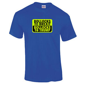 B-llocks-to-Brexit-B-llocks-to-Trump-Theresa-May-Donald-Trump-PREMIUM-T-Shirt