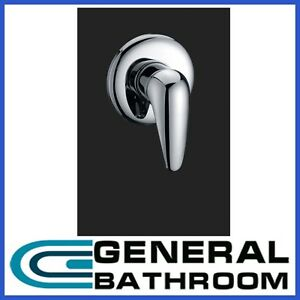 Watermark Brass Chrome  Flick Wall Bath Shower Mixer