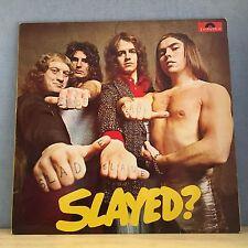 SLADE Slayed? 1972 UK VINYL LP EXCELLENT CONDITION  Mama Weer All Crazee Now B