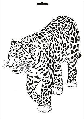Leopard stencil from The Stencil Library CONTEMPORARY range. Buy ...