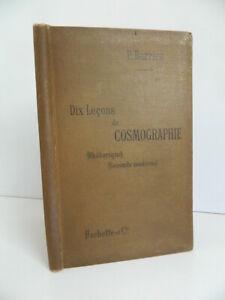 P. Barrieu Diez Lecciones de Cosmografía Hachette 2è Édit. 1898