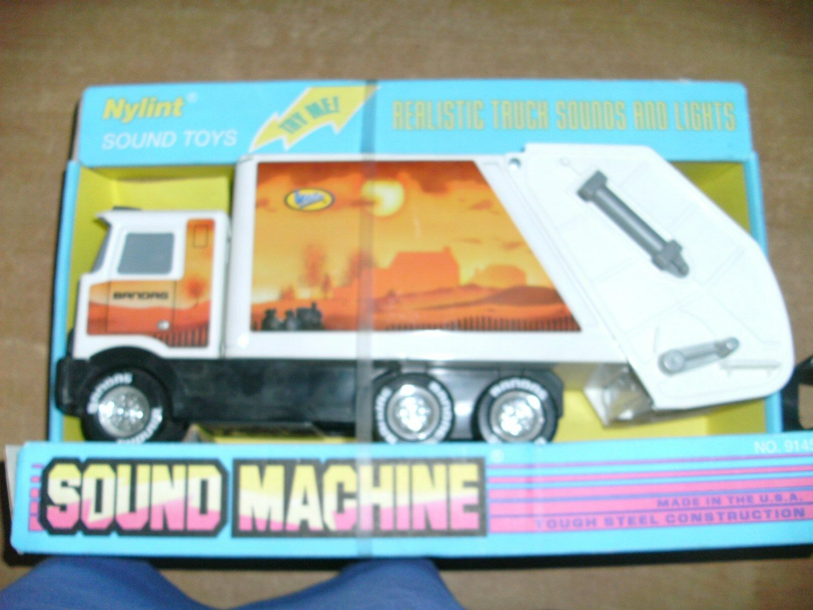 LKW Transporter Abfall Müllauto Nylint Sound & Lights Toys electric tools