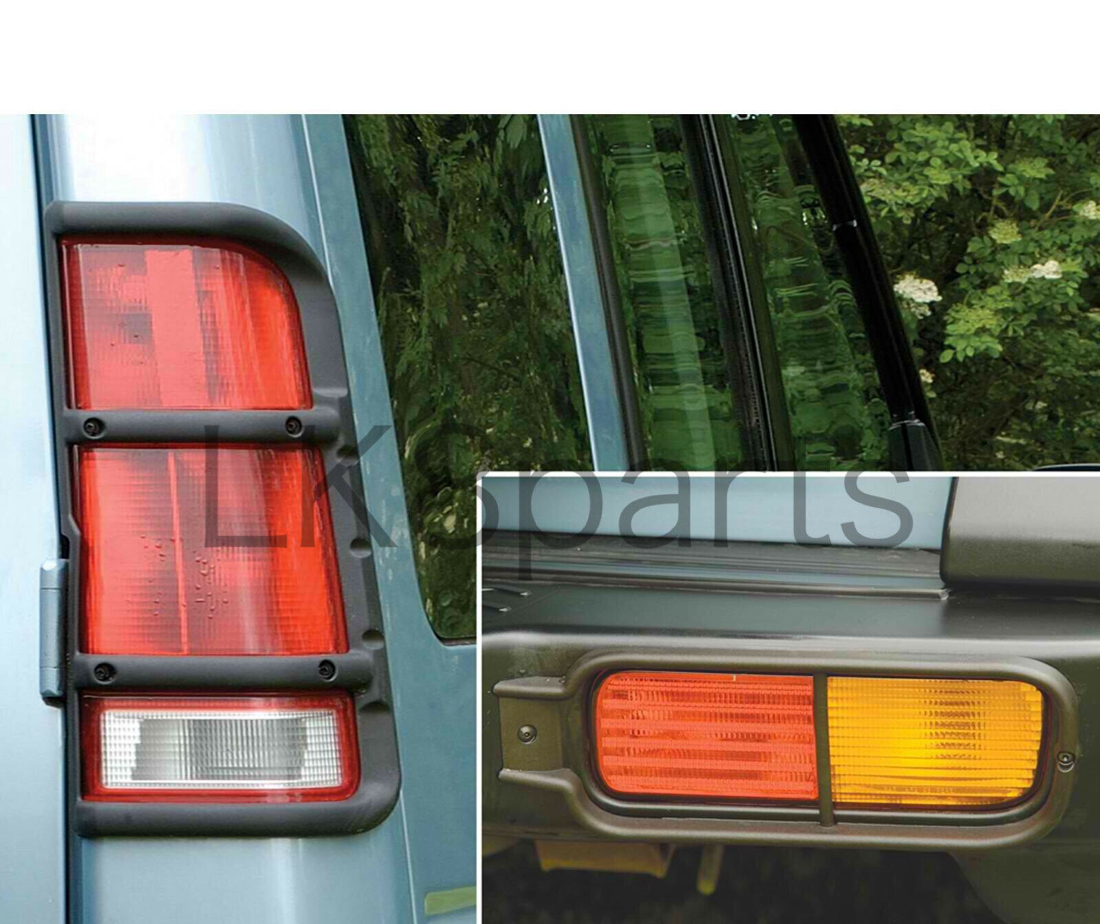 Land Rover Rear Bumper Signal Guards Discovery Ii 99 04