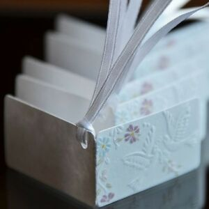 Embossed Wedding Gift Tags : -Embossed-Wedding-Doves-and-Flowers-Gift-Tags-Paper-Favor-Tags-Labels ...