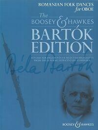 Efficace Bartok édition Roumaine Folk Dances Hautbois-afficher Le Titre D'origine