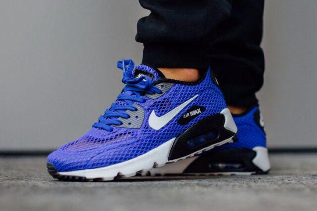 "Nike Air Max 90 Ultra BR PLUS QS ""Racer Blue""Shoe Mens size 9 810170 401"
