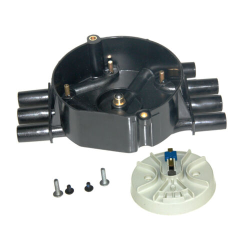 Ignition Distributor Cap and Rotor Kit for Chevy GMC Pickup Truck 4.3L 1996-2007