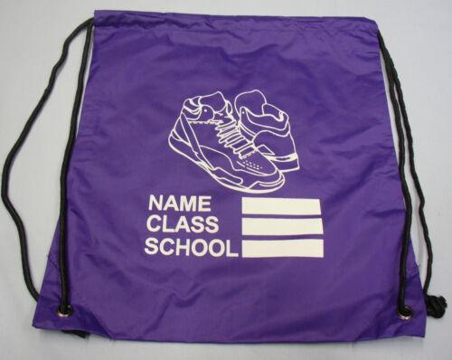 Childrens Boys Girls School Uniform Swimming Swim Dance Sports PE Bag Drawstring