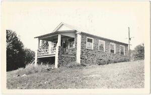 1945-Alburtis-Lehigh-County-Pennsylvania-Stone-House-Real-Photo-Postcard
