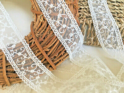Premium Quality Very Pretty and Delicate 5.5inch//14cm Gold Tulle Lace Trim