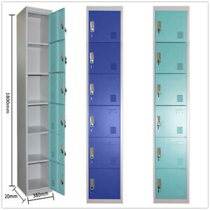 Panana-Metal-6-Door-Key-Lockable-Staff-Gym-Storage-Locker-2-colours