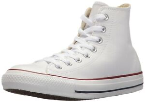 90164e4c6684dd Converse Unisex Chuck Taylor All Star Leather High Top Sneaker Shoes ...