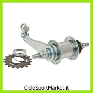 Mozzo-contropedale-36-Fori-in-Acciaio-per-bicicletta-Compreso-Pignone-18-Denti