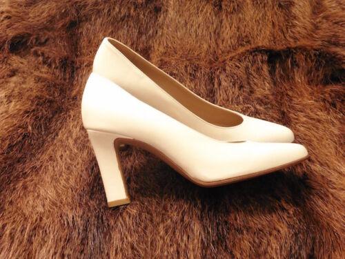 Creme Silvy 90 Cuir Neuf Chaussure Escarpin T Super Vintage 80 36 Tout qOXwxf