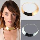 New Fashion Womens Punk Style Metal Collar Chain Bib Choker Statement Necklace