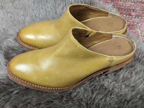 Frye Women's Rosalia Marigold Mule Size Women's 6B