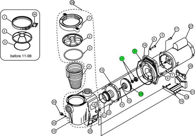 Ao Smith Pump Motor