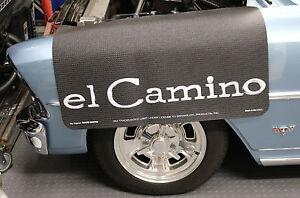 Chevrolet El Camino Fender Gripper Protective Black Cushion Fender Cover: FG2048