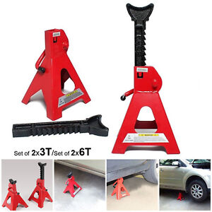 Home-2x3-6-Ton-Axle-Jack-Stands-Heavy-Duty-Auto-Car-Lifting-Floor-Ratchet-Tool