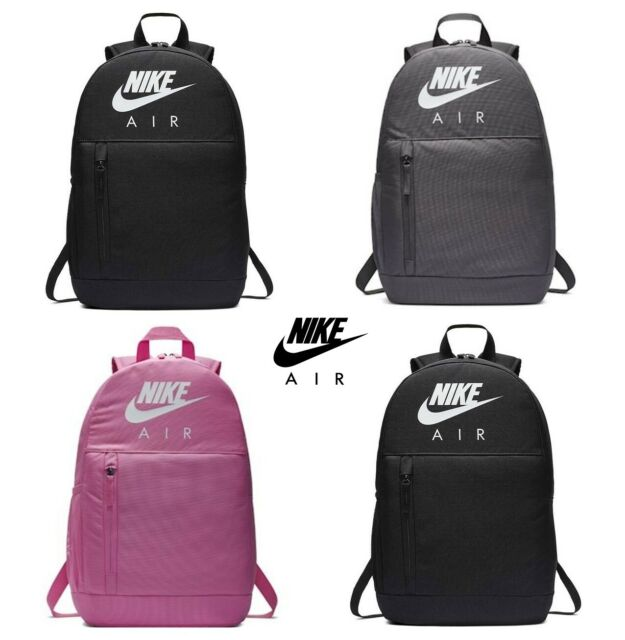Nike School Bag Backpack Air Elemental Rucksack Backpacks Gym Sports Bags
