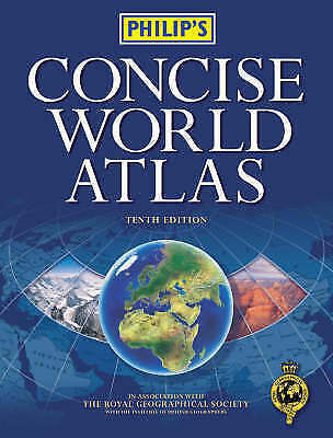 (Good)-Philip's Concise World Atlas (Hardcover)-Philips-0540078921