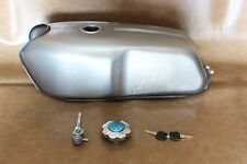 Motorcycle Vintage Fuel Gas Tank 9 Liters Cafe Racer New Plain No.Color