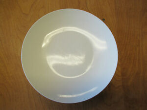 Crate-amp-Barrel-Culinary-Arts-ELEMENTS-WHITE-Dinner-Plate-10-1-2-034-6-available