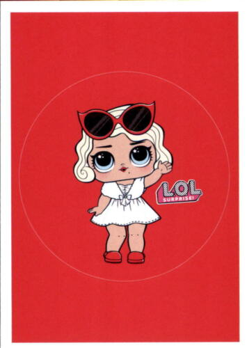 sticker nº 31 Panini-L.o.l surprise!