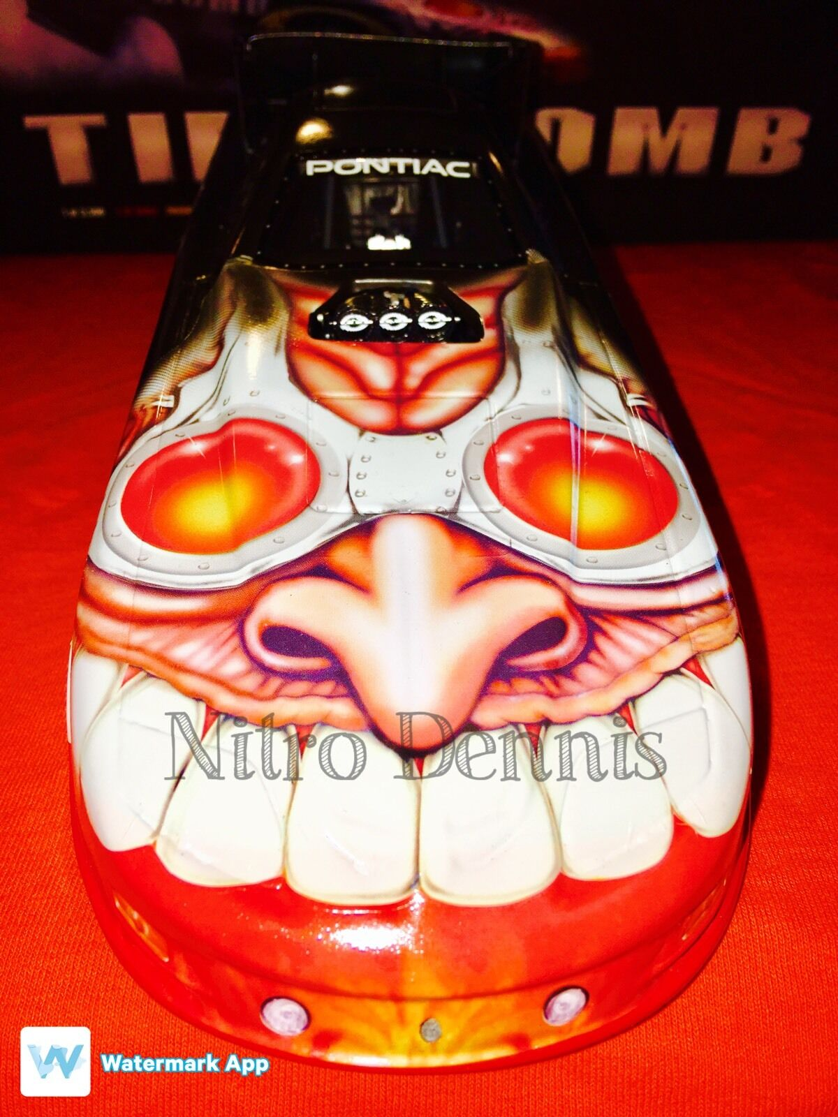 NHRA SCOTTY CANNON 1 16 Milestone 02 Funny Car NITRO Firebird TIME BOMB Diecast