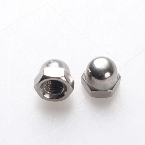 12PCS M10 c  Acorn Hex Nut Right Hand Thread