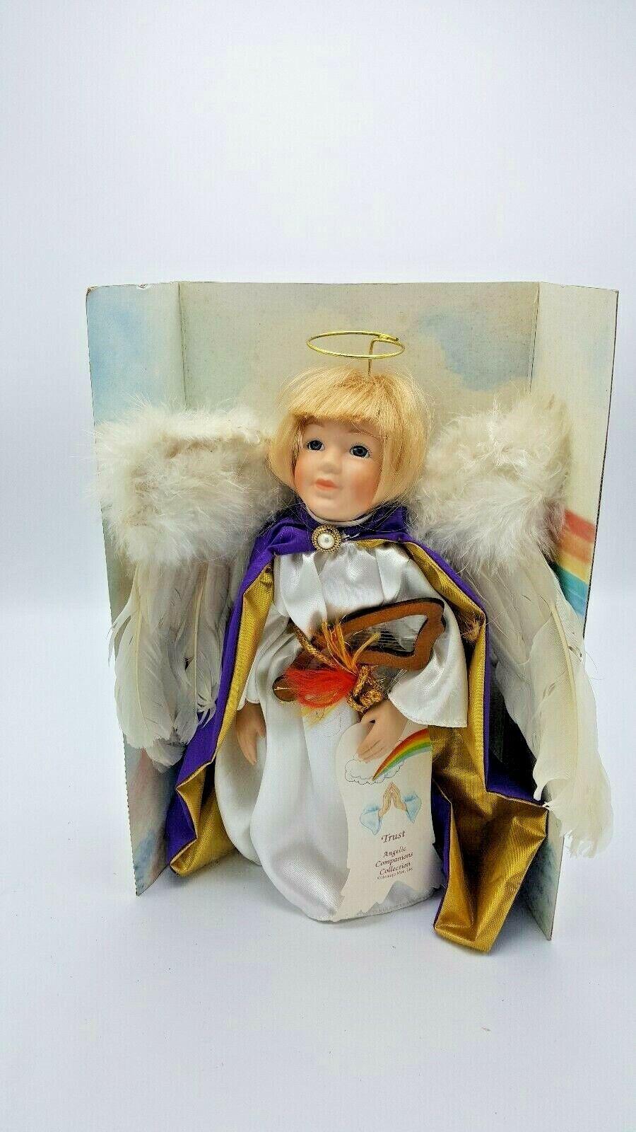 HARMONY Porcelian Doll Angelic 12  ©Heritage Mint, Ltd Heavenly Wings VERY RARE