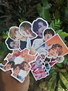 50pcs KPOP BTS Korea Group Bangtan Boys PVC Stickers set