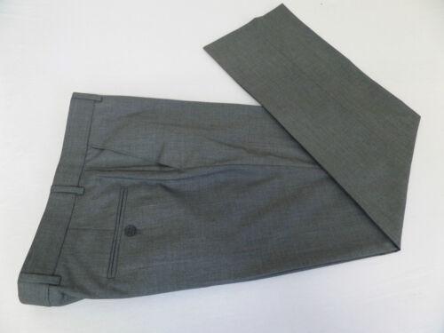Uomo Nuovi Pantaloni Grigio w46 l32 cc2989